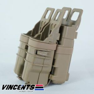 2-in-1 Magazine Pouch for M4 Hi-Capa Glock Tan