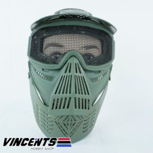 2001 Airsoft Mask Green