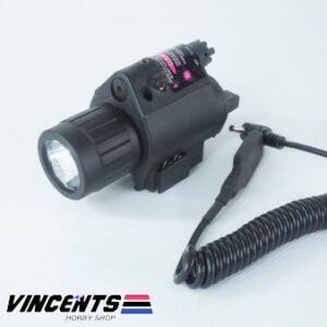 2023 Tactical Flashlight with Laser