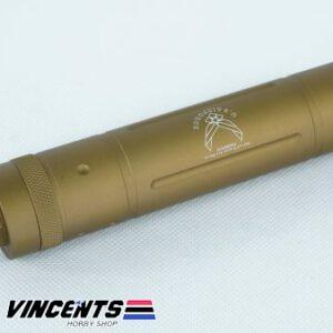 6-inch Marine Silencer Tan