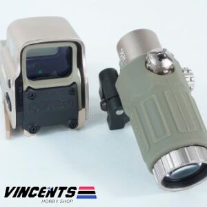 All New Eotech with Magnifier Tan