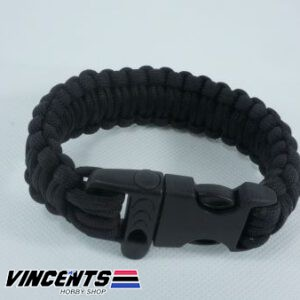 Arm Band with Whistle Neon Black