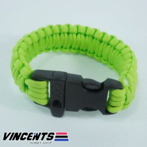 Arm Band with Whistle Neon Green
