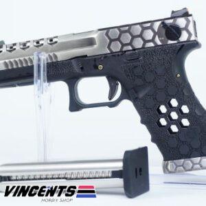 AW VX0200 Glock 18 Silver Slide