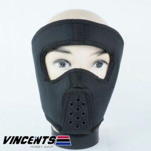Canvas Full Face Mask Black