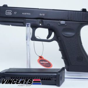Double Bell 721 Glock 17 Black Pistol