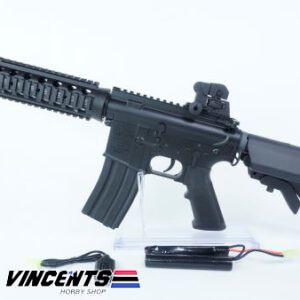 E&C 302 1 Black M4 CQB AEG Rifle