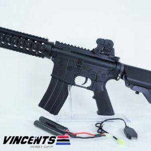 E&C 302 M4 CQB Black AEG Rifle