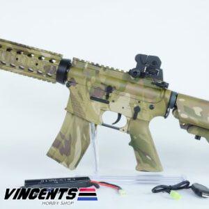 E&C 302 M4 CQB AEG Multicam Rifle