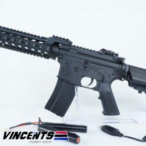 E&C 305 M4 CQB Black AEG Rifle