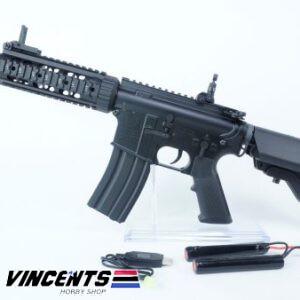 E&C 607 Black M4 CQB AEG Rifle