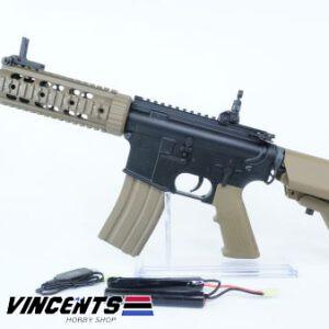 E&C 607 De M4 CQB AEG Rifle