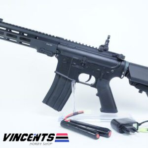E&C 633 M4 CQB Black AEG Rifle