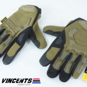 Fingerless Gloves XL Tan