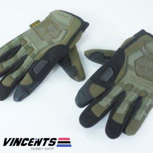 Fingerless Gloves XL Green