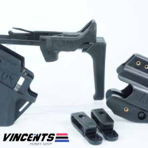 Flux Carbine Kit with Grip and Holster Black
