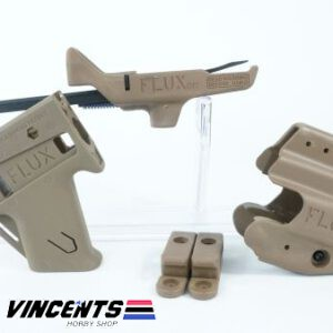 Flux Carbine Kit with Grip and Holster Tan