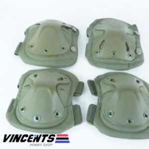 Fox Knee and Elbow Pad Green