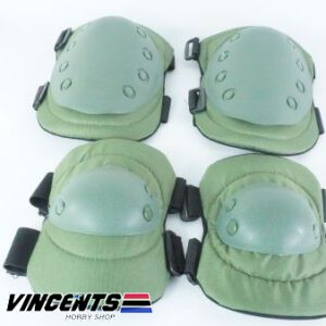 Knee and Elbow Pad Set Green