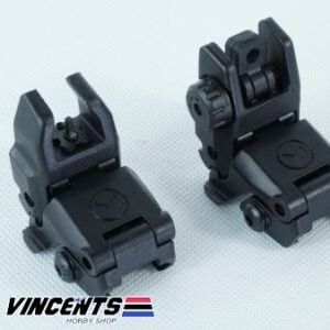 MAGPUL Front and Rear Sight Polymer Black