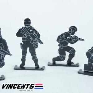 Metal Soldier Target