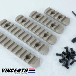 MGP CQB 5-Piece M-Lock Railing Tan