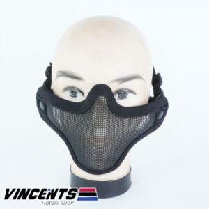Neoprene Lower Face Mask Black
