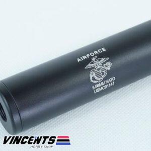 5-inch Stubby Silencer Black