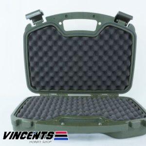 TMV Double Pistol Case Green