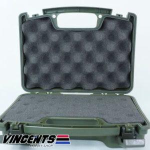 TMV Single Pistol Case Green