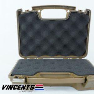 TMV Single Pistol Case Tan
