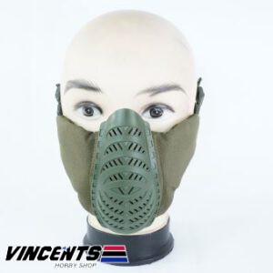 Vision Tactical Lower Face Mask OD Green