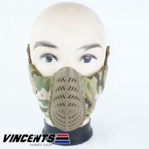 Vision Tactical Lower Face Mask Multicam