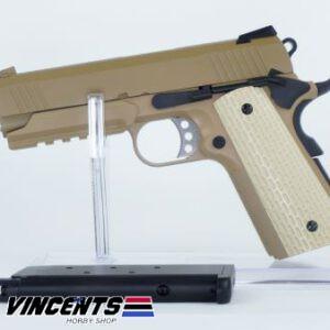 WE 4.3 Desert Warrior Tan 1911 Pistol