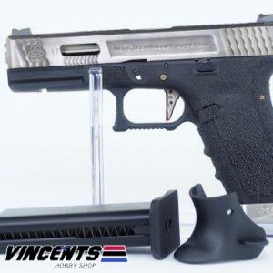 WE Glock 17 TMSS Silver Slide