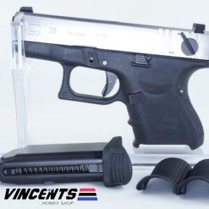We Glock 26 Gen4 Silver Slide