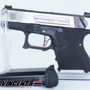 WE Glock 26 TMSS Silver Slide