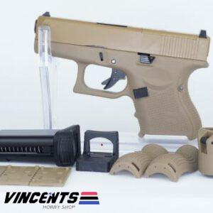 We Glock 27 Gen4 with MOS Tan