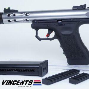 WE Glock Galaxy Silver Pistol