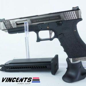 WE Glock 34 TMSS Silver Slide