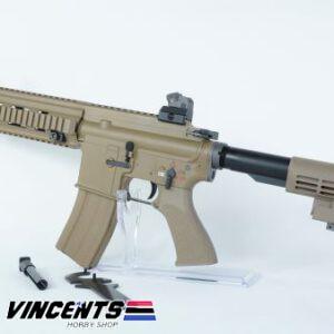 WE HK416 GBB Rifle Tan