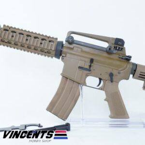 WE M4 CQBR GBB Tan Rifle
