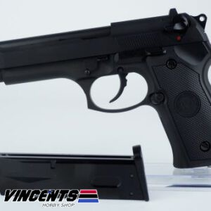 WE M92 Beretta Black Pistol