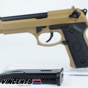 WE M92 Beretta Tan Pistol