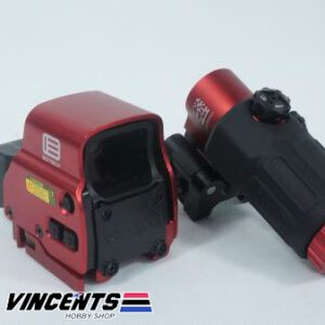 All New Eotech with Magnifier Red