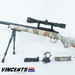 Double Bell VSR 10 Multicam with Bipod and Scope