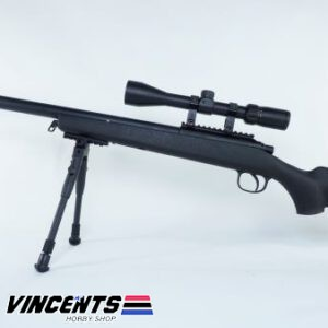 Double Bell VSR 10 Black with Bipod and Scope