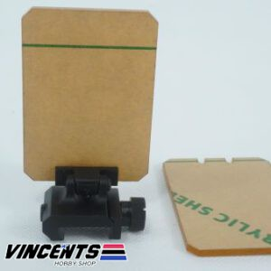 Rifle Optic Sight Protector With Spare Lens