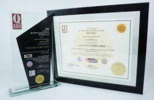 Vincent Hobby Shop Q ASIA Magazine Award Winner.