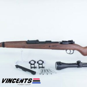 Double Bell Kar98 Plastic with Scope